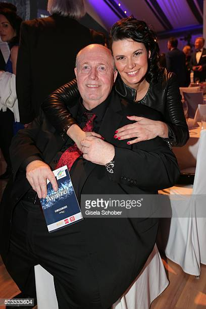 Reiner Calmund and his wife Sylvia Calmund during the Radio Regenbogen Award 2016 at Europapark Rust on April 22 2016 in Rust Germany