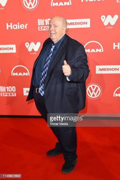 """Reiner Calmund attends the """"BILD100 SPORT"""" Get Together at Axel Springer Haus on May 24, 2019 in Berlin, Germany."""
