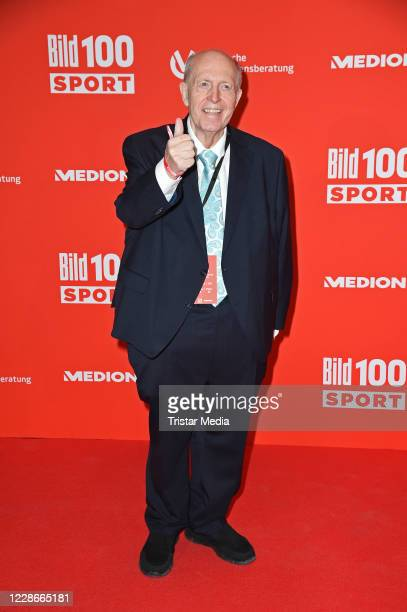Reiner Calmund attends the BILD100 Sport Get Together at Deutsche Bank Park on September 23, 2020 in Frankfurt am Main, Germany.
