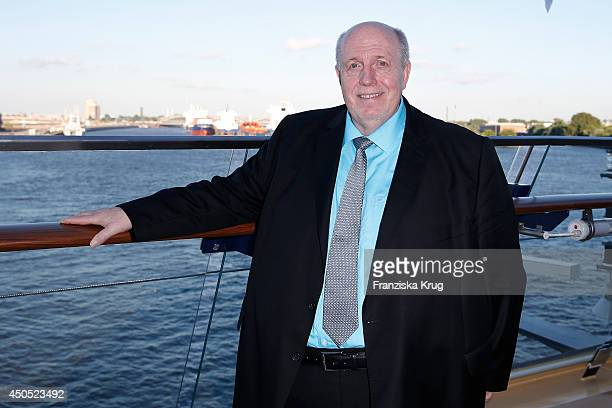 Reiner Calmund attends the christening of the ship 'Mein Schiff 3' on June 12 2014 in Hamburg Germany