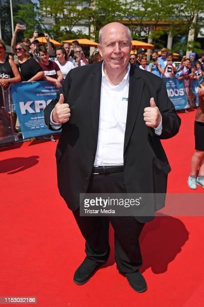 """Reiner Calmund attends the """"Kroos"""" world premiere on June 30, 2019 in Cologne, Germany."""