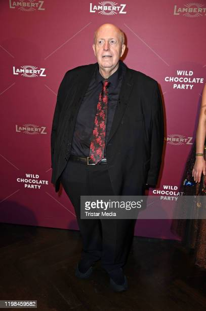 Reiner Calmund attends the red carpet arrival at Lambertz Monday Night Party 2020 at Alter Wartesaal on February 3, 2020 in Cologne, Germany.