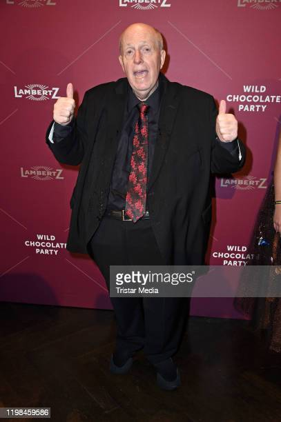 Reiner Calmund attends the red carpet arrival at Lambertz Monday Night Party 2020 at Alter Wartesaal on February 3 2020 in Cologne Germany