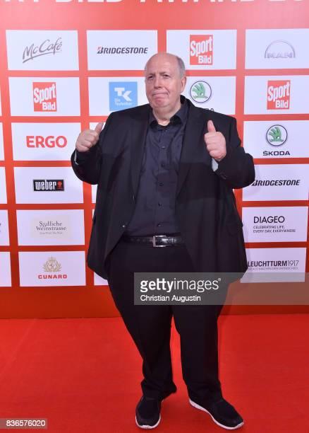 Reiner Calmund attends the Sport Bild Award at the Fischauktionshalle on August 21, 2017 in Hamburg, Germany.
