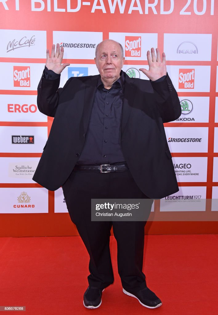 Reiner Calmund attends the Sport Bild Award at the Fischauktionshalle on August 21, 2017 in Hamburg, Germany.