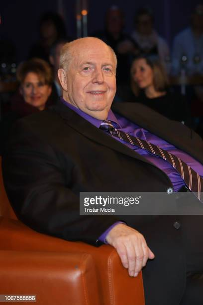 Reiner Calmund during the 'NDR Talk Show' on November 30 2018 in Hamburg Germany