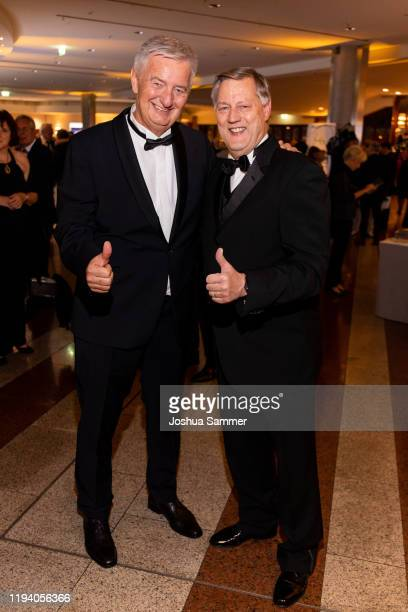Reiner Meutsch and Ruediger Mittendorff at the Fly Help Gala at Maritim Hotel on December 14 2019 in Cologne Germany