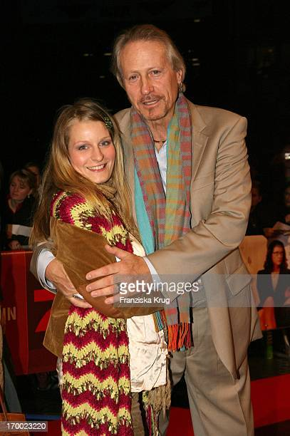 Reiner Schöne With His girlfriend Anja Drendel At The Germany premiere of 'In the shoes my sister' In Des Cinestar Sony Center in Berlin