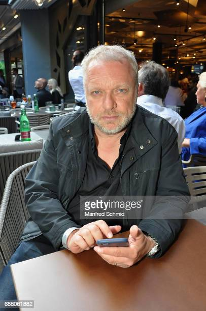 Reinhard Novak poses during the 'Die Allee zum Genuss' restaurant opening party on May 24, 2017 in Vienna, Austria.