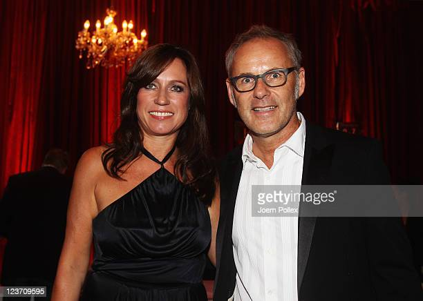 Reinhold and Kerstin Beckmann attend the Day of Legends gala Night of Legends at the Schmitz Tivoli theatre on September 4 2011 in Hamburg Germany