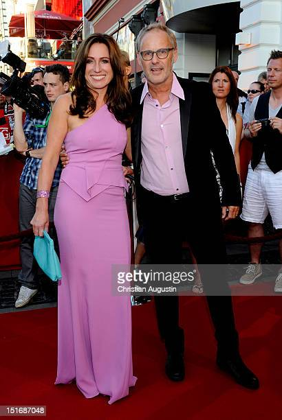 Reinhold Beckmann and his wife Kerstin attend Tag der Legenden at Schmidts Tivoli on September 9 2012 in Hamburg Germany