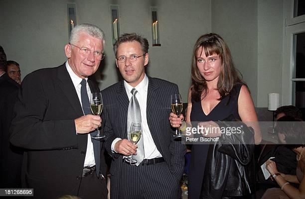 Reinhold Beckmann Ehefrau Kerstin Beckmann Jobst Plog ARDGala AfterShowParty zum 70 Geburtstag von Harald Juhnke Edelrestaurant Wollenberg Hamburg...