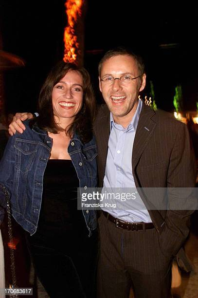 Reinhold Beckmann Ehefrau Kerstin Feiern Auf Der Planet Mallorca Party Am 270401 Im Dorint Hotel Auf Mallorca