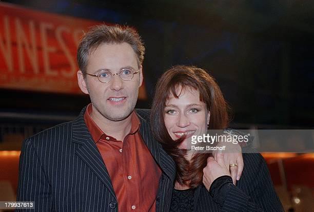 Reinhold Beckmann mit Ehefrau KerstinGuinnessDie Show der Rekorde ARD