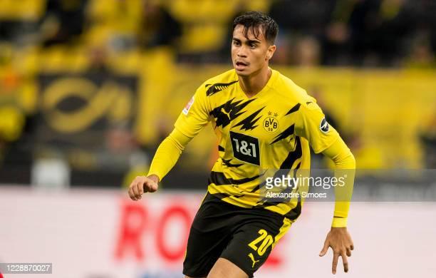 Reinier of Borussia Dortmund in action during the Bundesliga match between Borussia Dortmund and SportClub Freiburg at the Signal Iduna Park on...
