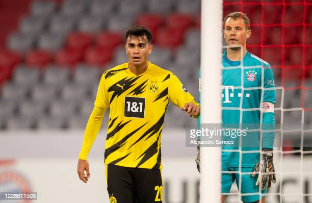 Reinier of Borussia Dortmund in action during the DFL Supercup match between FC Bayern Muenchen and Borussia Dortmund at the Allianz Arena on...