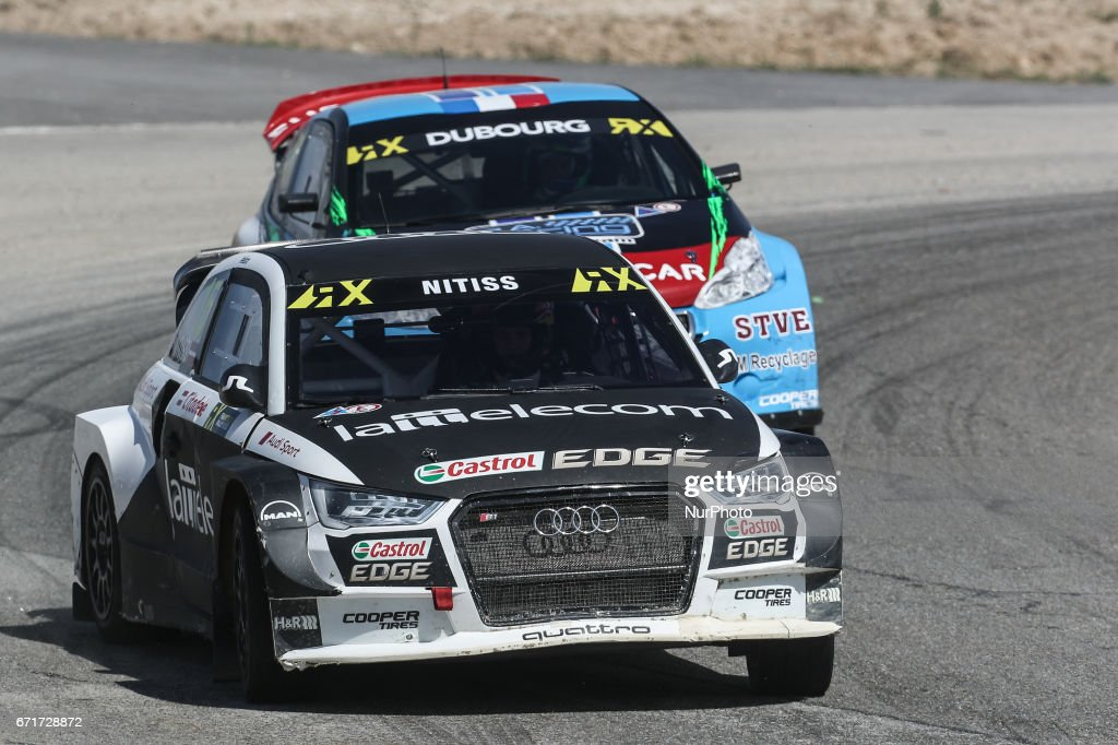 Reinis NITISS (LVA) in Audi S1 of EKS in action during the World RX of Portugal 2017, at Montalegre International Circuit in Portugal on April 22, 2017.