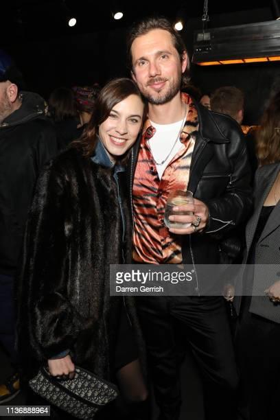 Reino LehtonenRiley and Alexa Chung attend The Great Frog Store launch event on March 19 2019 in London England