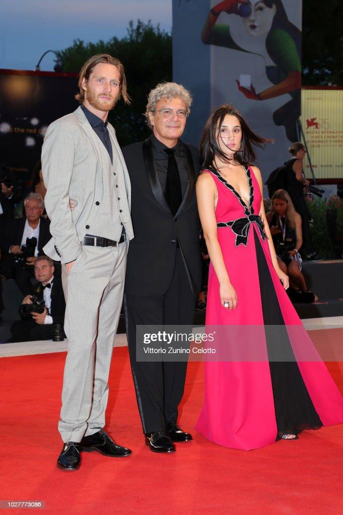 Reinout Scholten Van Aschat Mario Martone And Marianna Fontana Walk News Photo Getty Images