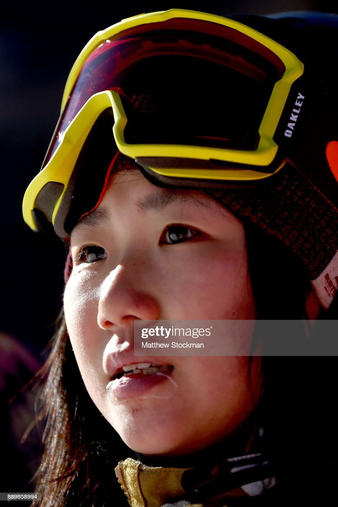 Reira Iwabuchi #19 of Japan competes in the FIS World Cup 2018 Ladies Snowboard Big Air final during the Toyota U.S. Grand Prix on December 10, 2017 in Copper Mountain, Colorado.