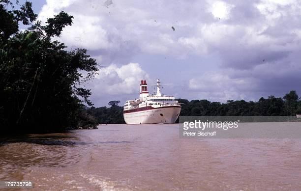 Reise Amazonas Fluss Manaus/Brasilien Schiff 'Astor' Kreuzfahrtschiff Südamerika Fluß