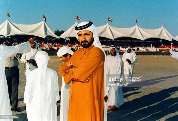 Reise Dubai/Vereinigte Arabische Emirate Mittlerer Osten AsienScheich Mohammed bin Rashid Al MaktoumKamelrennen
