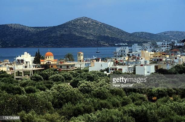 Reise Griechenland Europa Kreta Lounda bei Agios Nikolaos
