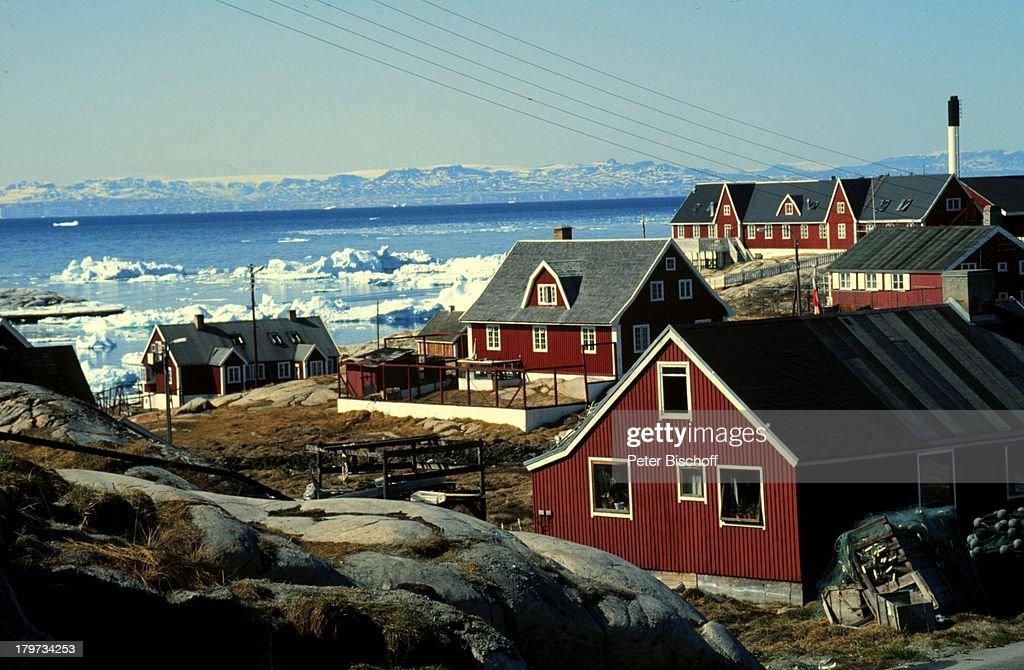 reise grnland europa jakobshavn huser arktis - Muster Huser