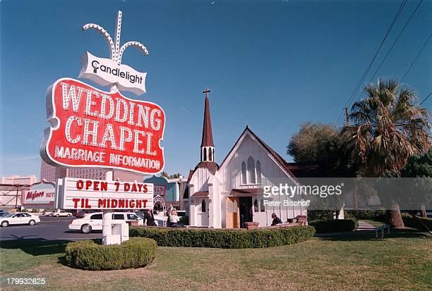 Reise Hochzeitskapelle Kerzenlicht LasVegas/USA/Amerika