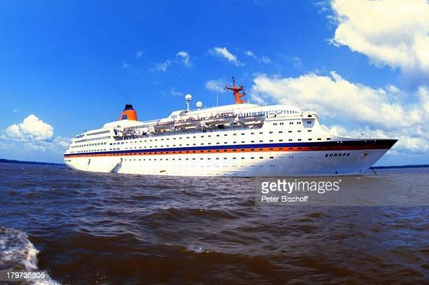 Reise Manaus/Brasilien Schiff MS Europa Südamerika Meer See Seitenansicht