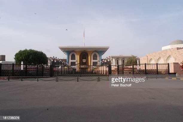 Reise Muscat/Oman/Arabien Palast des Sultans von Sultan Qaboos Arabischer Staat Mittlerer Osten Asien