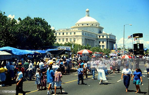 Reise Puerto Rico San Juan USA Hauptstadt Capitol Musikfest Karibik