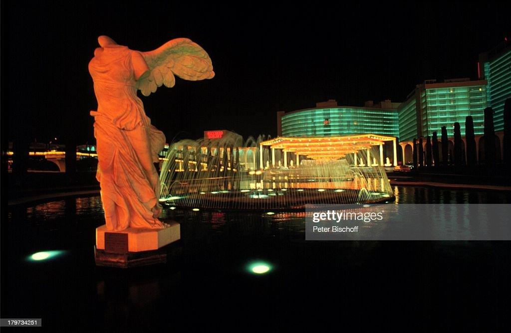 Reise , USA , Nevada , Las Vegas , Hotel,;'Caesars Palace' , Nacht ,