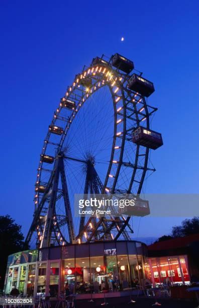 Reisenrad (Ferris Wheel) at Prater, Leopold Stadt.