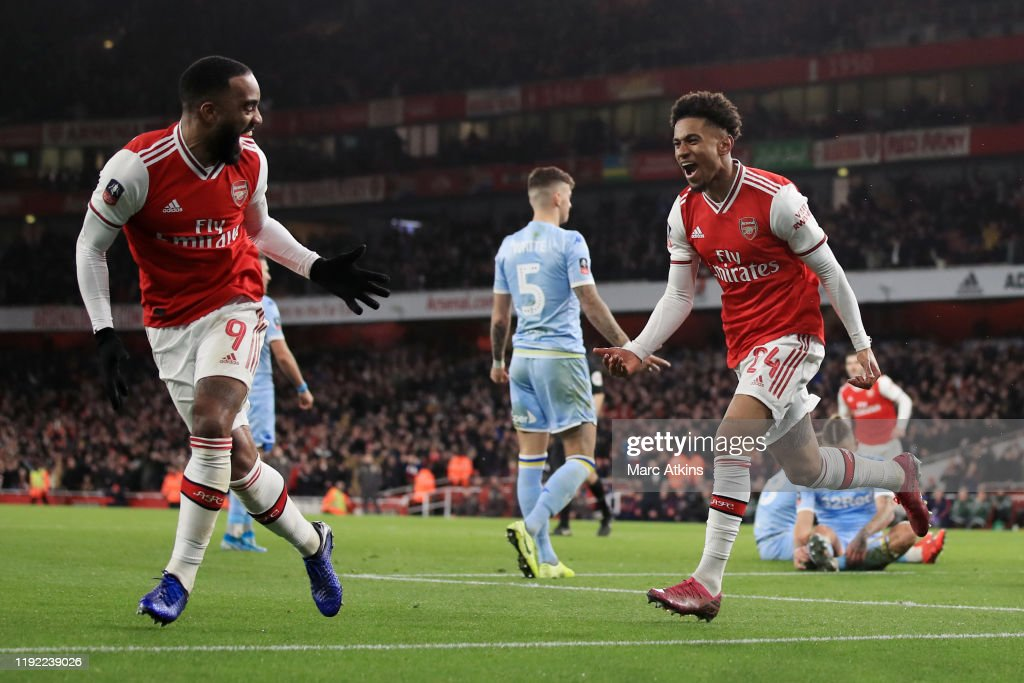 Arsenal FC v Leeds United - FA Cup Third Round : News Photo