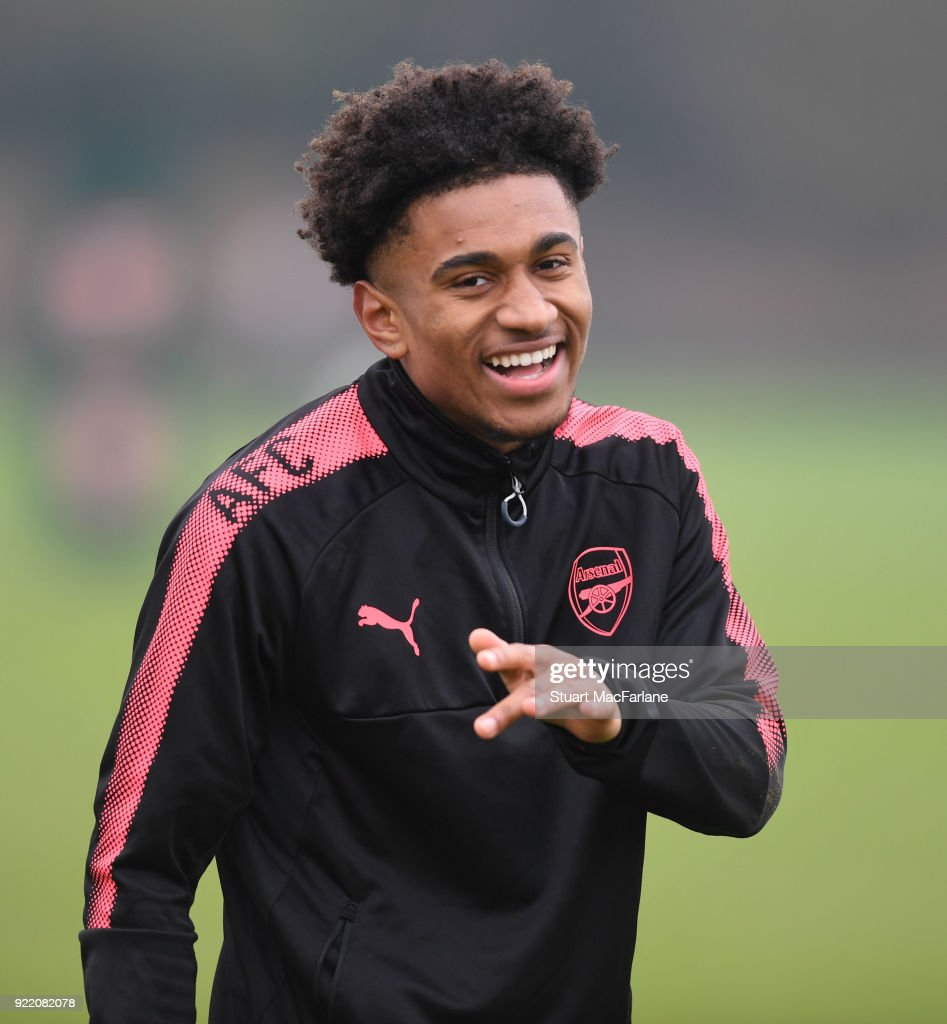 Arsenal Training and Press Conference : News Photo