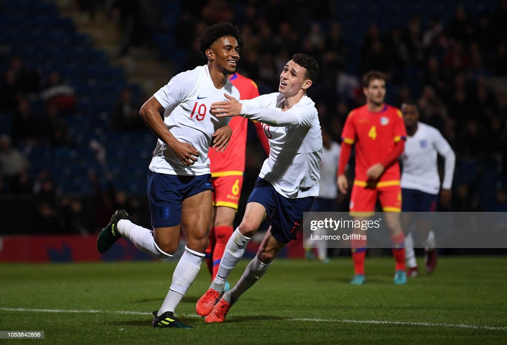 England U21 v Andorra U21 - 2019 UEFA European Under-21 Championship Qualifier : ニュース写真