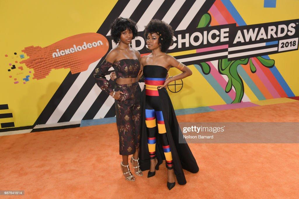 Nickelodeon's 2018 Kids' Choice Awards - Red Carpet : News Photo