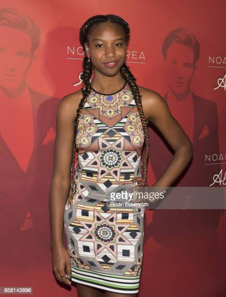 Reiya Downs attends Noah Urrea's 16th Birthday with EP Release Party at Avalon Hollywood on March 26 2017 in Los Angeles California
