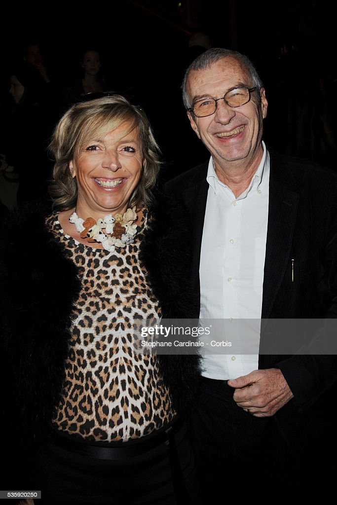 Rejane Lacoste and Michel Lacoste attend 'Madame Figaro' 30th Anniversary Party, at Salle Wagram in Paris.