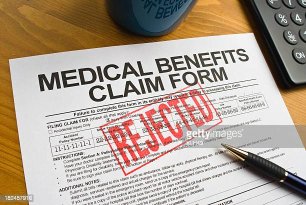 Rejected Benefits Claim Form