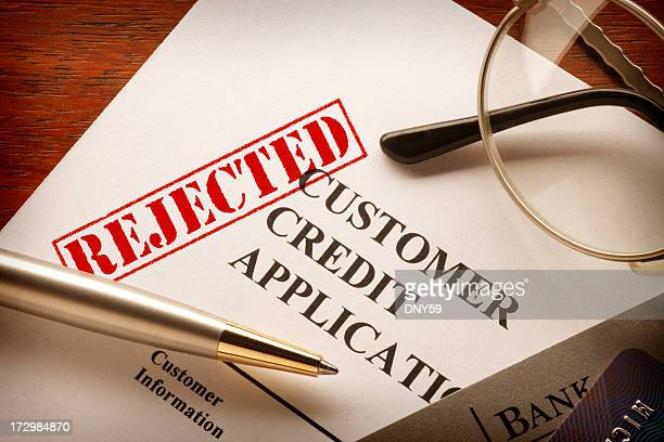 Rejected  Customer Credit Application