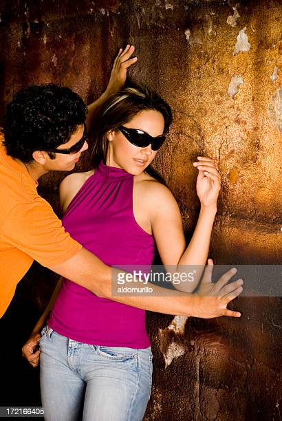 Worlds Best Sex Against A Wall Stock Pictures, Photos