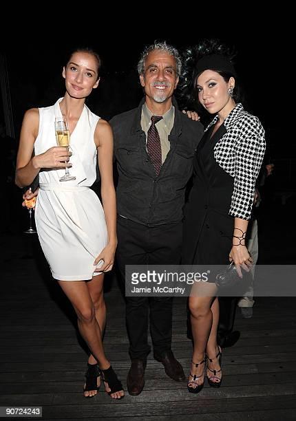 Rekah Luther Rick Pepino and Fabiola Beracasa attend Film at MAC Milk Studios on September 13 2009 in New York City