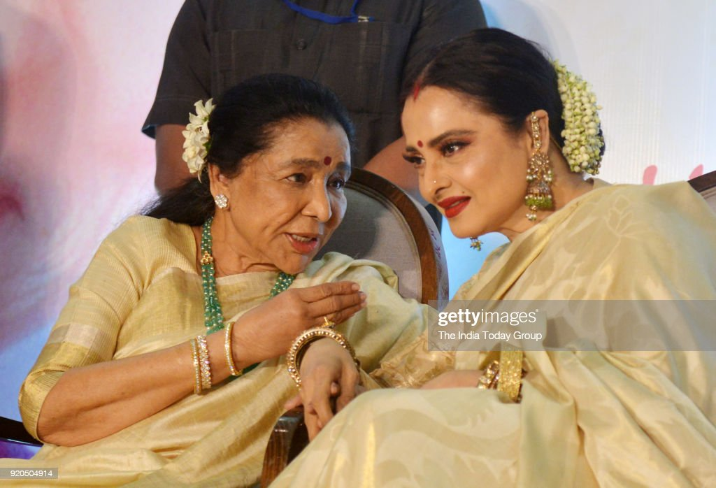 Rekha and Asha Bhosle at the Yash Chopra Memorial Award 2018 in Mumbai