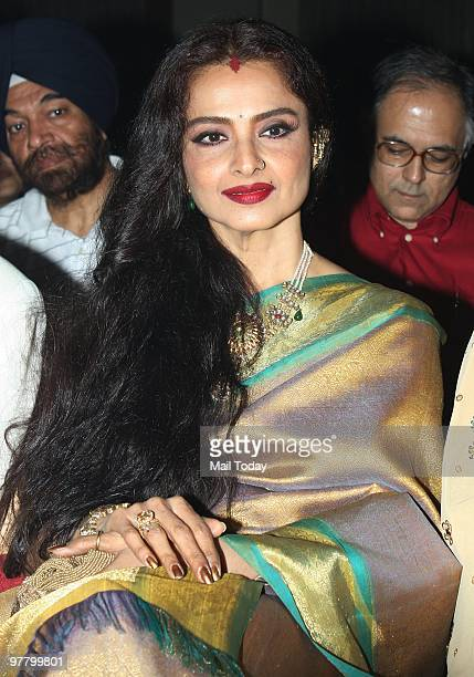 Rekha at the music launch of the film 'Sadiyaan' in Mumbai on Tuesday March 16 2010