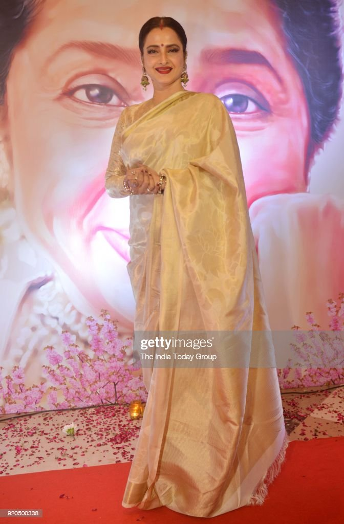 Rekha at the Yash Chopra Memorial Award 2018 in Mumbai