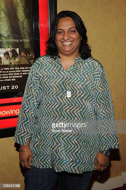 Rekha attends the premiere of Hiding Divya at Big Cinemas Manhattan on August 17 2010 in New York City