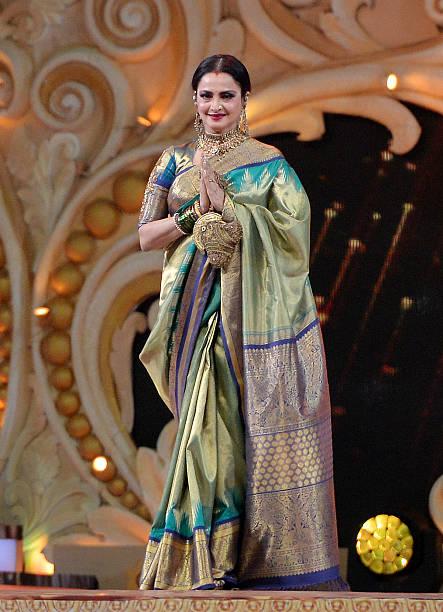 Rekha during Sansui Colors Stardust Awards 2016 in Mumbai