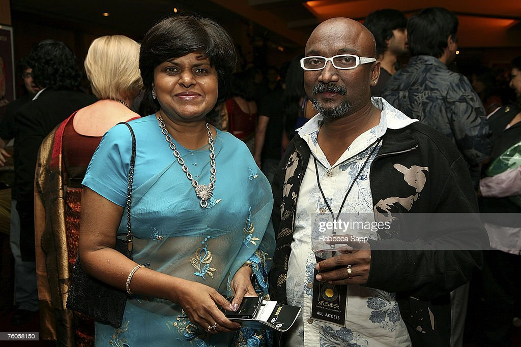 Rekha Mody of Habi Art and artist Bose Krishnamachari at the Opening Night reception of India Splendor which celebrates India`s 60th Anniversary of...